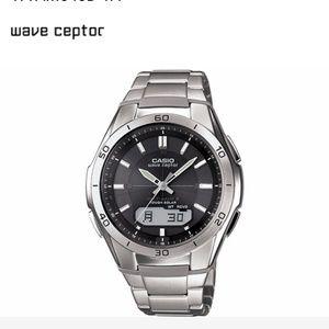 NWT Casio Wave Ceptor Atomic Timekeeping Watch